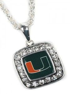 College rhinestone necklace. See all the gameday dresses and accessories for so many schools on this site!