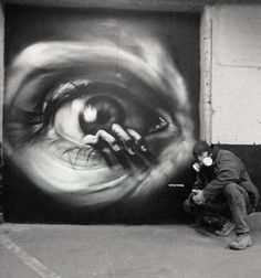 Street Face Art by MTO.~♛