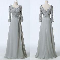 Gk Madre De La Novia Novio Noche Ball Gown formal Boda Prom Vintage Vestido