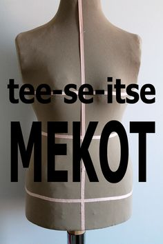 Madam B.C.: Tee-se-itse: Ompele mekko osa 1. Sewing Hacks, Sewing Crafts, Sewing Projects, Diy Clothing, Clothing Patterns, Old Clothes, Modern Christmas, Drops Design, Handicraft