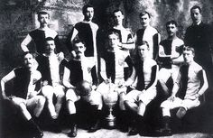 Bolton Wanderers Football Club 1883 - my 4th great uncle, Peter Parkinson, was the President from 1882-1886. Possibly the chap standing on the right here.