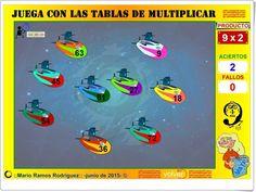 Juega con las tablas de multiplicar (Mario Ramos Rodríguez)