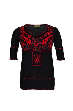 Lena Hoschek: Spring/Summer 2013 Collection--José Pullover black red