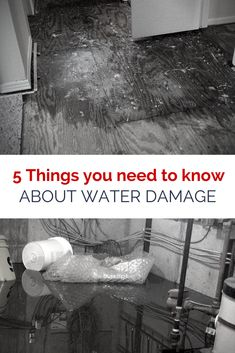 Has water damage happened to you? Here's what to do next to keep it from getting worst.
