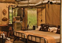 Singita. Can't wait. Explore Camp.