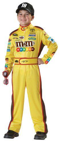California Costumes Nascar Kyle Busch Child Costume, Medium Plus *** Visit the image link more details.