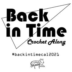 Back In Time Black - Sheep Wools Crochet Along 2021 – Black Sheep Wools Black Sheep Wool, Back In Time, Easy Stitch, Bo Peep, Goodie Bags, Cotton Bag, Under The Sea, Crochet Hooks, Party Invitations