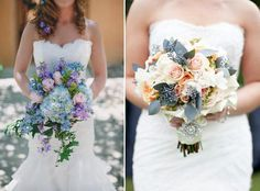 Ideas for your wedding bouquet! >> http://www.yesbabydaily.com/blog/beautiful-blooms