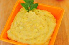 Petit pot de polenta au fromage pour bébé (dès 12 mois)   http://www.cuisine-de-bebe.com/recette/petit-pot-de-polenta-au-fromage/