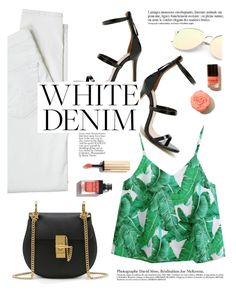 """White Denim"" by yexyka ❤ liked on Polyvore featuring Antik Batik and Anja"