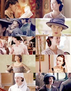 """sybil crawley: """"You have a talent that none of the rest of us have. Just find out what it is and use it. It's doing nothing that's the enemy."""""""
