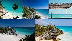Tulum plus belle île du monde Mexique Yucatan océan pacifique plage de sable blanc mer turquoise île bohème http://www.vogue.fr/voyages/hot-spots/diaporama/les-plus-belles-les-du-monde/21391#tulum-plus-belle-le-du-monde