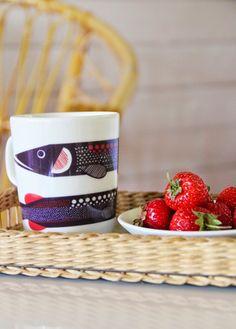 CIRKUS: mug from Marimekko Marimekko, Finland, Wordpress, Cottage, Make It Yourself, Mugs, Tableware, Blog, Summer