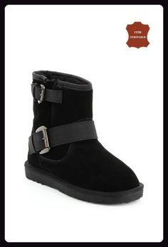 Mini Damen amp;du Leder Winter Fashion Schneestiefel vm8nN0w