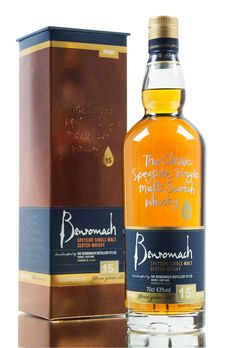 New to the Benromach distillery whisky range is this 15 year old Speyside expression, created from whisky matured in both sherry & bourbon casks.