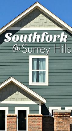 New homes for sale in Southfork at Surrey Hills in Yukon, Oklahoma via @OkieHomeGirl