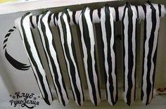 Zebra painted Radiator