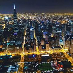 Chicago Skyline, pic courtesy of Choose Chicago.