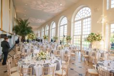 Kew Gardens- amazing room, full of light for the wedding breakfast and evening party