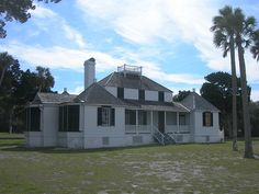 ~Kingsley Planation House in the Timucuam National Preserve on the St. George Island, Florida - dates back to 1798 & is the oldest standing planation house in Florida~