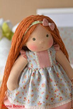 Waldorf ručné hračky.  Waldorf Doll Lisa.  Elena Belova (Waldorf bábiky).  Fair Masters.  Darčekové dievča darček