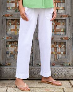 We've turned your favorite Pedal Pusher into ankle pants! With the same front pocket detailing and elastic waistband, our Key Largo Ankle Pants are the perfect pick for a brisk mornings or nights. Style Essentials, Fashion Essentials, Pedal Pushers, Ankle Pants, Pocket Detail, Must Haves, Cotton, Key Largo, Ankle Length Pants