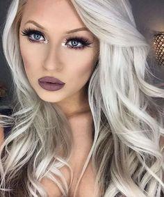 30 Ideas For Hair White Silver Platinum Blonde Haircuts -Relaxwoman, Beauty Makeup, Hair Makeup, Hair Beauty, Blonde Haircuts, Style Blogger, Platinum Blonde, About Hair, Hair Dos, Pretty Hairstyles
