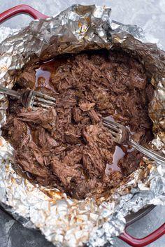 Shredded Mexican Beef ~ https://www.fromvalerieskitchen.com