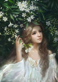 Image shared by Countess†††. Find images and videos about art, amazing and fantasy on We Heart It - the app to get lost in what you love. Fantasy Art Women, Beautiful Fantasy Art, Fantasy Girl, Art Anime Fille, Anime Art Girl, Anime Girls, Chica Fantasy, Art Mignon, Digital Art Girl