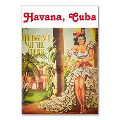 Shop Vintage Havana nights tablecard Table Number created by Personalize it with photos & text or purchase as is! Cuban Party Theme, Havana Nights Party Theme, Vintage Havana, Its My Bday, Havana Cuba, Table Cards, Table Numbers, Beach Party, Vintage Inspired