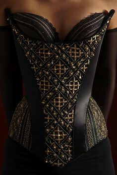 Corset by Hubert Barrere