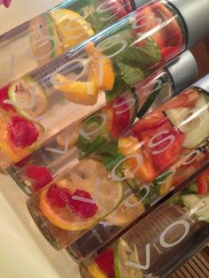 Fruit Infused Water Detoxification #Beauty #Trusper #Tip