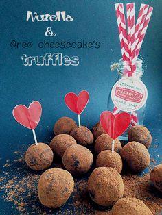 Nutella & Oreo Cheesecake's truffles