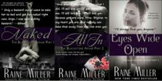 Naked / All In / Eyes Wide Open - The Blackstone Affair series  <3 Ethan