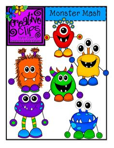 The Creative Chalkboard: Day 2 {Freebie} Monster Writing Pages and New Monster Clipart!