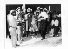 Photo of Couple Dancing in Juke Joint 1946 by Photographic Archives,