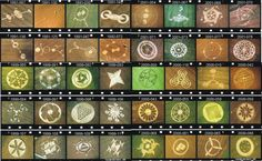 Here are a sample of crop circles from 1991 to 2001.