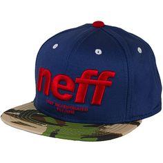 Neff Hardr Snapback Cap navy ★★★★★
