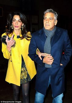 George Clooney and wife Amal Clooney spotted out taking a stroll on the Upper West Side af...