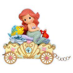 Precious Moments Disney Birthday Train: 4th Birthday Little Mermaid Make A Splash On Your Birthday $26.56