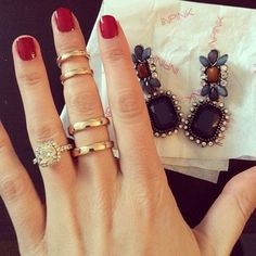 Midi Rings Wild Style, My Style, Midi Rings, Ring Necklace, Latest Fashion Trends, Jewlery, Fashion Jewelry, Bling, Necklaces