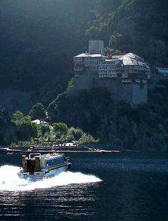 Dionysiou Monastery, Mount Athos, Greece   by Aleksandar Dekanski