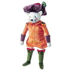 """RIDDERLIG Soft toy - IKEA, cat. Length: 17 ¾ """". Designer Silke Leffler. Fabric: 100 % polyester Filling: Polyester fiber fill"""
