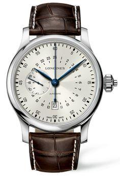Longines-Twenty-Four-Hours Single-Push-Piece-Chronograph-Watch