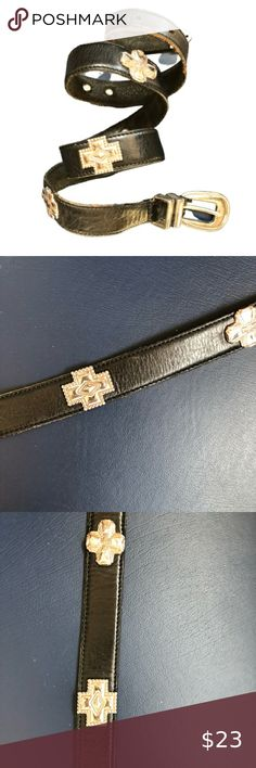 Western Leather Chin Strap 56 CM Width Approx 1,6 CM Length: Approx