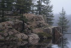 Killarney Provincial Park, Ontario, Canada --this will be my mission...find a place that mirrors this (in WA) and make it my own tiny piece of paradise <3 rp