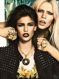 The new #JustCavalli Fall/Winter 2013 advertising campaign by Giampaolo Sgura.