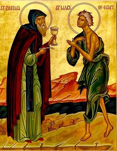 St. Zosimas & St. Mary of Egypt