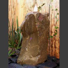 Superb Gartenbrunnen Komplettset beiger Sandstein cm
