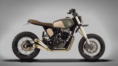 ϟ Hell Kustom ϟ: Honda FMX650 By Ton-Up Garage